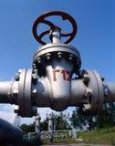 przemysł naturalnego oleju gazowego Zdjęcia Royalty Free