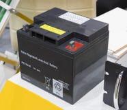 Przemysłowa bateria dla automotibile Zdjęcia Royalty Free