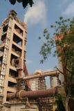 Przemysłowa cementowa produkcja Zdjęcia Stock