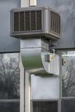 Przemysłowa klimatyzaci jednostka Zdjęcie Royalty Free