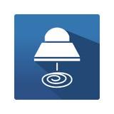 Przemysłowa lampowa ikona Fotografia Stock