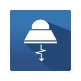 Przemysłowa lampowa ikona Obraz Royalty Free