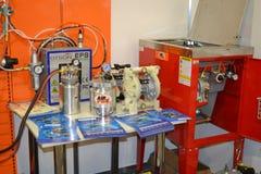 Przemysłowa maszyneria, produkci agregacja Obrazy Royalty Free