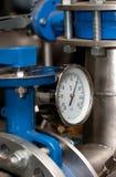 przemysłowa metrowa temperatura Fotografia Stock