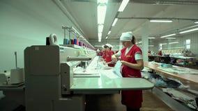 Przemysłowy Hafciarski Maszynowy dzierganie kapelusz Zdjęcia Royalty Free