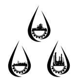 Przemysłowy icons-2 ilustracja wektor