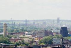 przemysłowy krajobraz fotografia stock