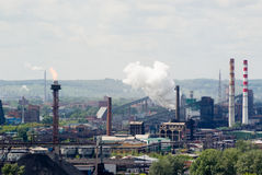 przemysłowy krajobraz Zdjęcie Stock