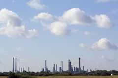 Przemysłowy Krajobraz Obraz Royalty Free