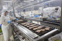 Przemysłowy kuchenny pracownik 012 Fotografia Stock