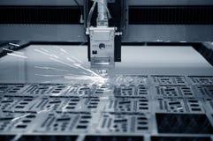 Przemysłowy laser Obraz Royalty Free