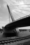 Przemysłowy most obrazy stock