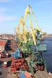 przemysłowy port obraz stock