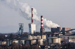 Przemysłowy region Zdjęcia Stock