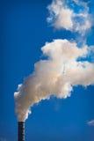 przemysłowy smokestack obrazy stock