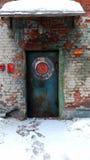 Przemysłowy stylowy drzwi Fotografia Stock
