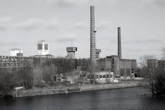 Przemysłowy teren Zdjęcia Royalty Free