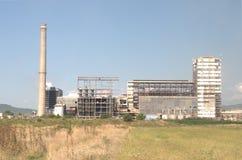 Przemysłu krajobrazowy widok Zdjęcie Royalty Free