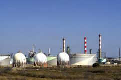 przemysłu produkt naftowy Obrazy Royalty Free