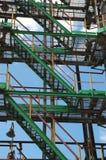 przemysłu rafinerii ropy naftowej rosjanin Zdjęcie Stock