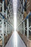 przemysłu storehouse Zdjęcia Stock