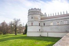 Przemysl, Pologne, - 14 avril 2019 Polonais de château de Krasiczyn : Zamek W Krasiczynie est une structure de la Renaissance dan images stock