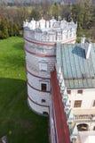 Przemysl, Pologne, - 14 avril 2019 Polonais de château de Krasiczyn : Zamek W Krasiczynie est une structure de la Renaissance dan photo libre de droits