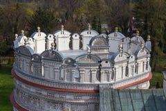Przemysl, Pologne, - 14 avril 2019 Polonais de château de Krasiczyn : Zamek W Krasiczynie est une structure de la Renaissance dan photos libres de droits