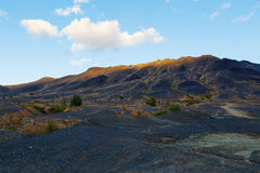 Przemysłowa pustynia - ekologiczna katastrofa w Karabash, Rosja środowiskowy Obrazy Stock