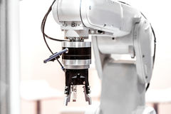 Przemysłowego robota ręka Zdjęcie Stock