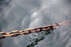 Przemysłowy żelazo łańcuch Zdjęcia Royalty Free