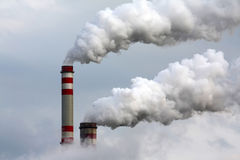 przemysłowy zanieczyszczenie Zdjęcie Stock