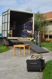 przeniesienie ładowna ciężarówka Zdjęcia Royalty Free