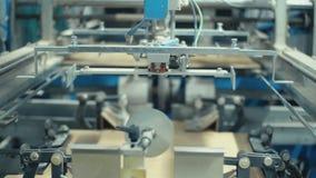 Przeniesienie karton maszyna dla produkcji kartony zbiory wideo
