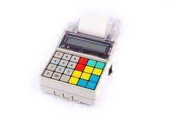 przenośne urządzenie gotówkowy rejestr Zdjęcia Stock