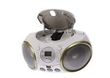 Przenośne urządzenie MP3, cd, DVD audio odosobniony Obrazy Stock