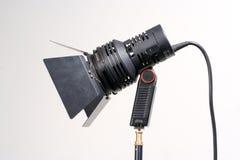 przenośne video światło Fotografia Stock