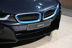 Przenośny hybrydowy sporta samochód BMW i8 Zdjęcia Royalty Free