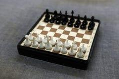 Przenośna szachowa deska 2 Zdjęcie Stock