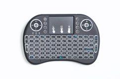 Przenośnego bezprzewodowego bluetooth klawiaturowego ochraniacza daleki kontroler dla komputeru i TV boksujemy Obrazy Stock