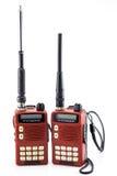 Przenośnego radia transceiver zdjęcie stock