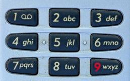 Przenośny telefon klawiatura Zdjęcie Royalty Free