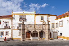 przeor weranda w Crato, Altowy Alentejo, Portugalia fotografia royalty free