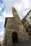Przeora pałac Montalcino Obraz Royalty Free