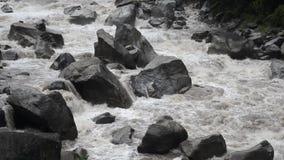 Przepływ Urubamba Rive zbiory wideo
