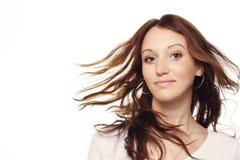 przepływ włosów Zdjęcia Royalty Free