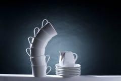 przepływ ceramiczne Fotografia Stock