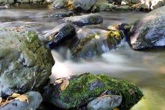 przepływ nad cichymi kamieniami Zdjęcie Royalty Free