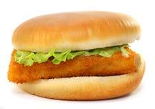 Przepasuje rybia kanapka Zdjęcia Royalty Free
