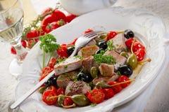 przepisu messinese tuńczyk zdjęcia royalty free